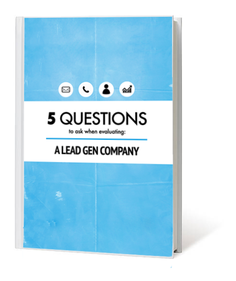 5 Questions To Ask Lead Generation Company Landing Page