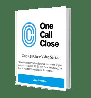 One Call Close