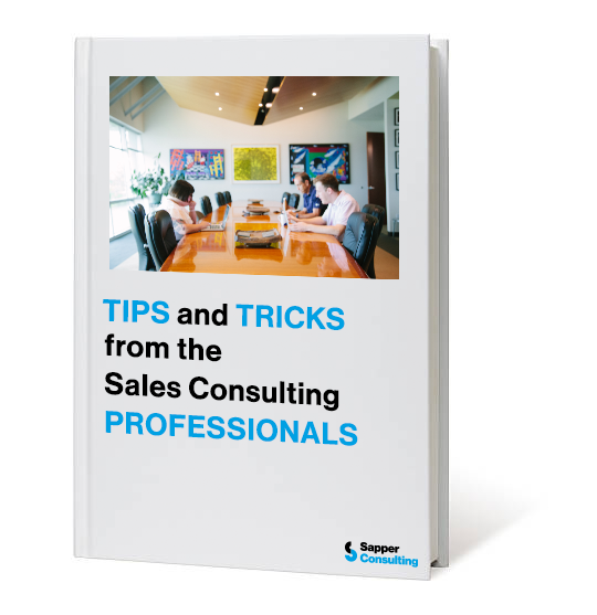 Tips and Tricks from the Sales Consulting Pros Landing Page
