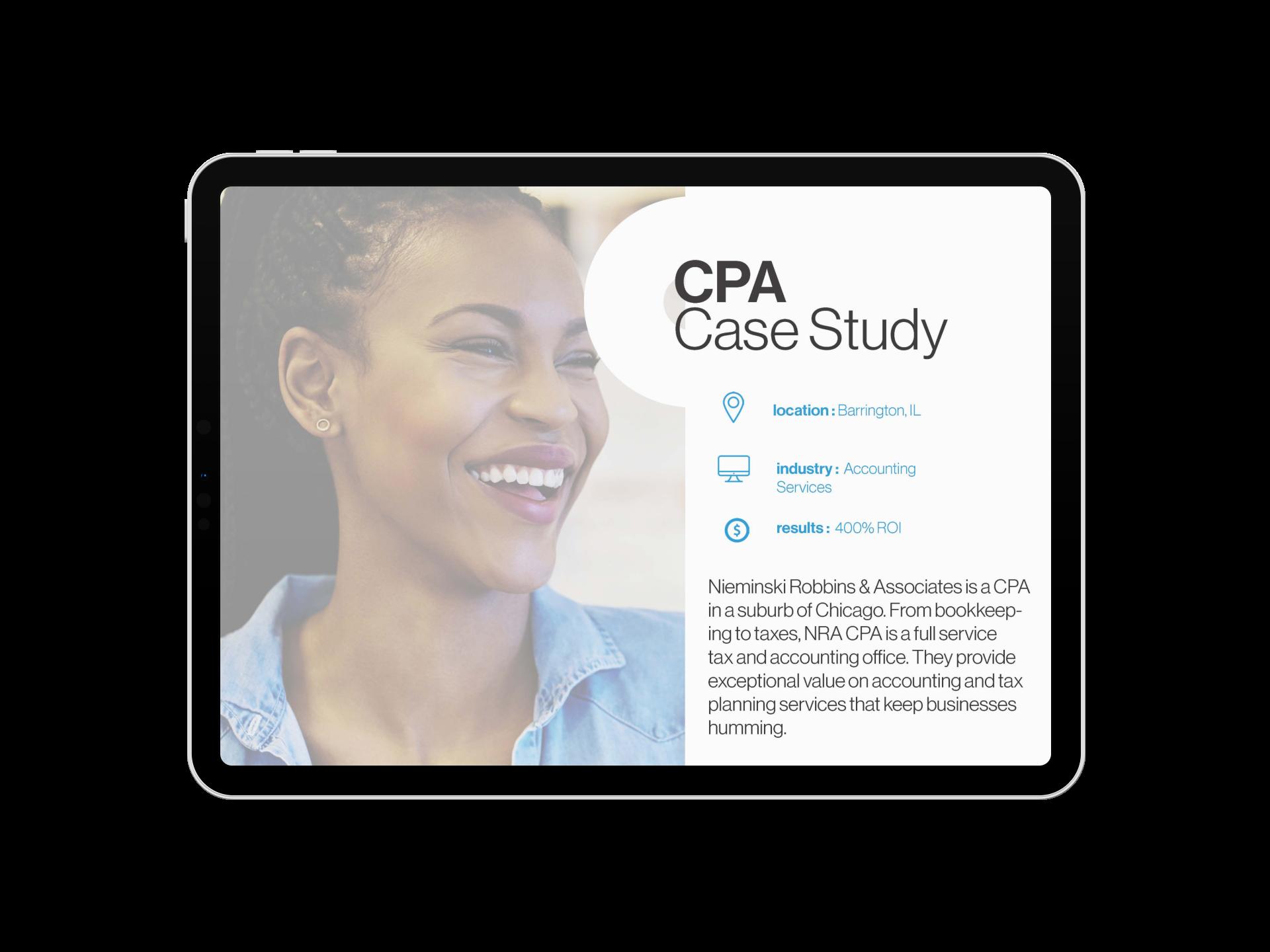 CPA Case Study
